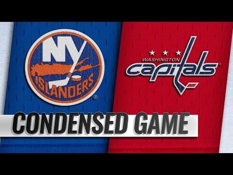 Обзор матча «Вашингтон Кэпиталз» — «Нью-Йорк Айлендерс»