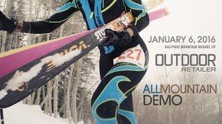 2016 Winter Market - All Mountain Demo