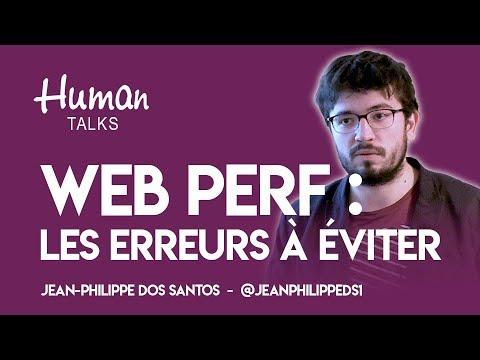 Les erreurs que j'aurais aimé éviter pour bosser sur la Web perf de mon site par Jean-Philippe Dos Santos