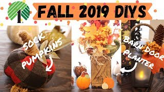 5 Dollar Tree Fall DIYS | DIY Pumpkins