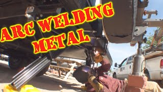 How To :  Arc Welding For Beginners - Do It Yourself