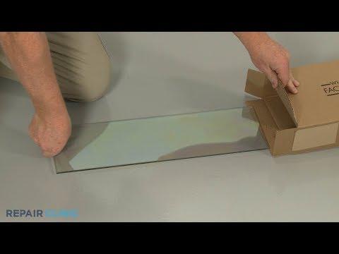 Kitchenaid Double Oven Electric Range Upper Inner Door Glass Replacement #W11132120