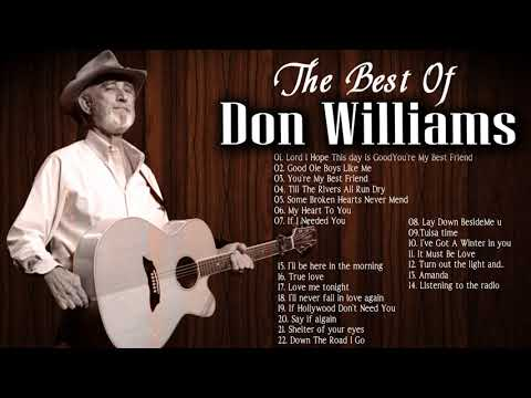 Don Williams Greatest hits - Best Songs of Don Williams Full Album