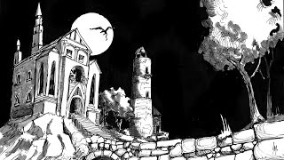 Pen & Ink Speed Drawing Haunted House