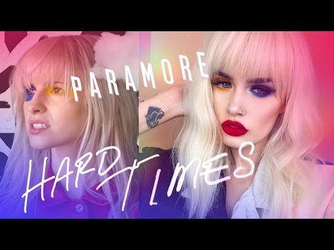 Paramore  Hard Times Hayley Williams Makeup Tutorial  atleeeey