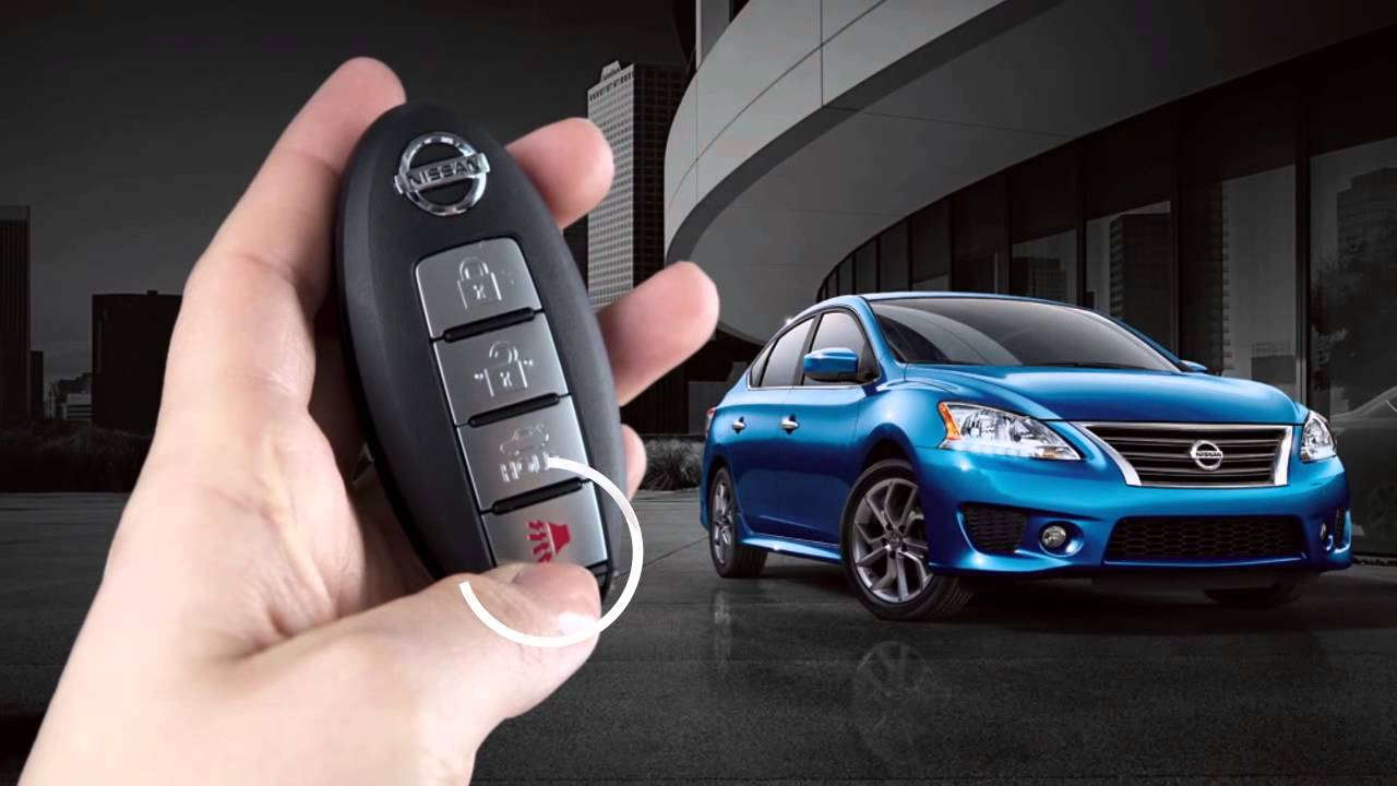 hight resolution of 2015 nissan sentra intelligent key and locking functions if so equipped youtube