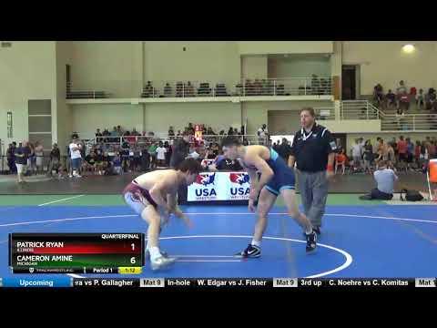 Junior 152 Patrick Ryan Illinois Vs Cameron Amine Michigan