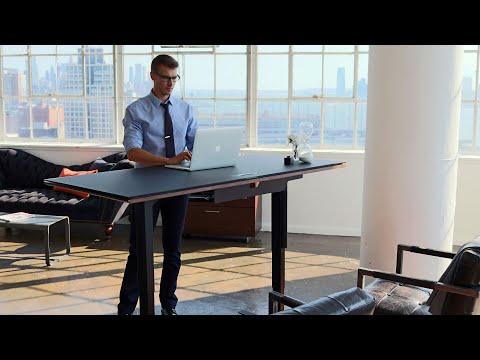 Height-Adjustable Standing Desks by BDI Furniture   Work Smart