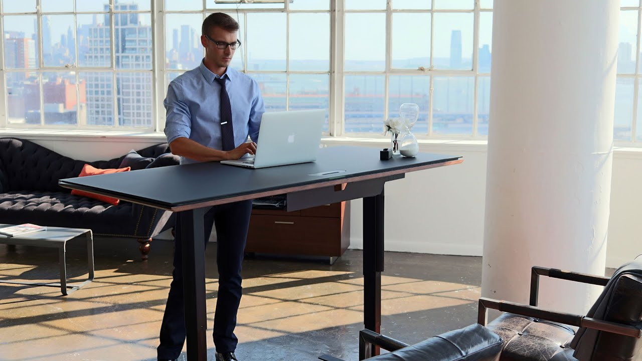 Sequel Lift Standing Desks By Bdi Furniture Work Smart Work