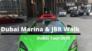 Dubai Marina Walk   Dubai JBR Walk   Dubai Tour 2019 By Travel With Arshad