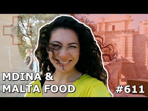 MALTA MDINA FOOD DAY 611 | TRAVEL VLOG IV