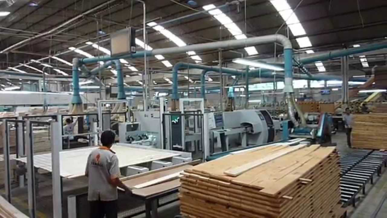Production Of Solid Wood Furniture Youtube