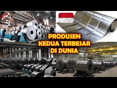 BERINAR CERAH !! TAHUN 2021 INDONESIA akan JADI PRODUSEN STAINLESS STEEL KEDUA TERBESAR di DUNIA