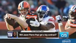 Will Jason Pierre-Paul get a long term deal with the Giants?