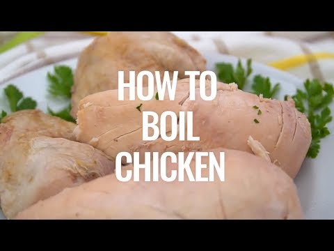 How to Boil Chicken Recipe