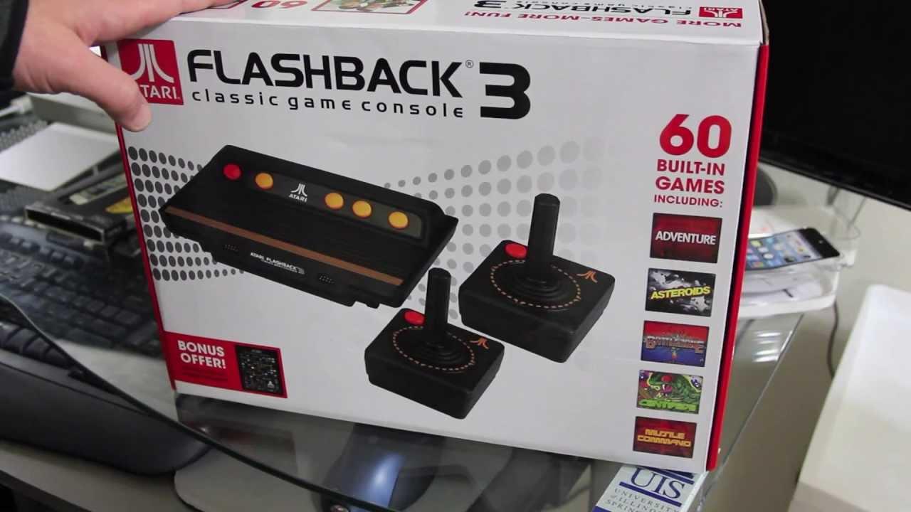 Atari Flashback 3 Hook up