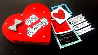 Special Handmade Gift For Husband | Anniversary Gift Box