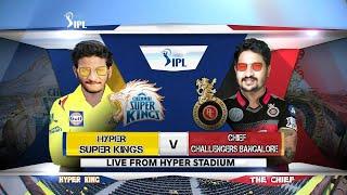 IPL 2020 CSK VS RCB Live Hyper King Telugu Gamer live stream #telugugaming #unqgamer #1