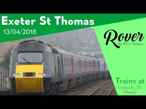 Trains at Exeter St Thomas, GWML - 13/4/18