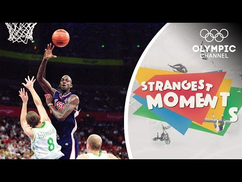 When Lithuania surprised USA Basketball at the Olympics | Strangest Moments