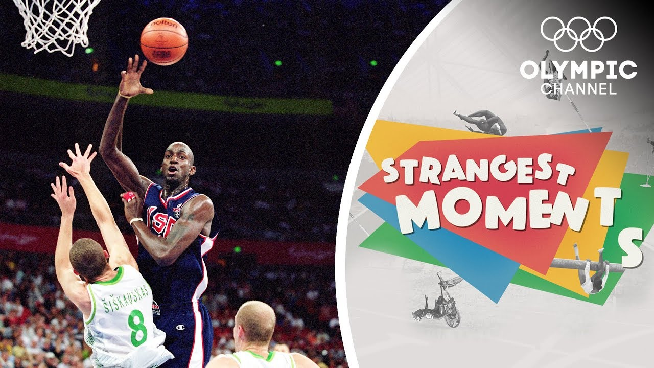 When Lithuania surprised USA Basketball at the Olympics   Strangest Moments