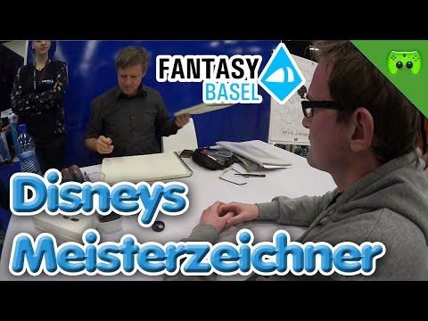 Jay und Chris treffen den Disney Zeichner Ulrich Schröder Teil 3 - #FantasyBasel