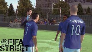 Fifa Street Gameplay Xbox 360- Francia Vs Holanda. el partido de las CHILENAS!!!