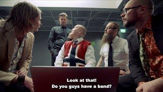 Funny Finnish Hard Rock Video with English subtitles – Smartass by Kotiteollisuus