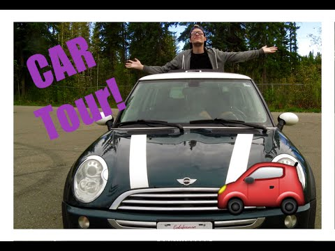 CAR TOUR!  WHAT'S IN MY CAR? 2006 MINI Cooper  Drive With Me!