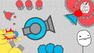 NEW TRAPPER AUTO TANK - NEW TAG MODE EPIC GAMEPLAY - Diep.io