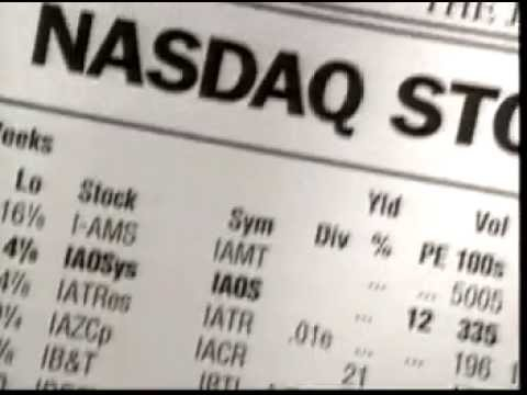 Vintage Nasdaq Commercial: The Stock Market for the Next 100 Years