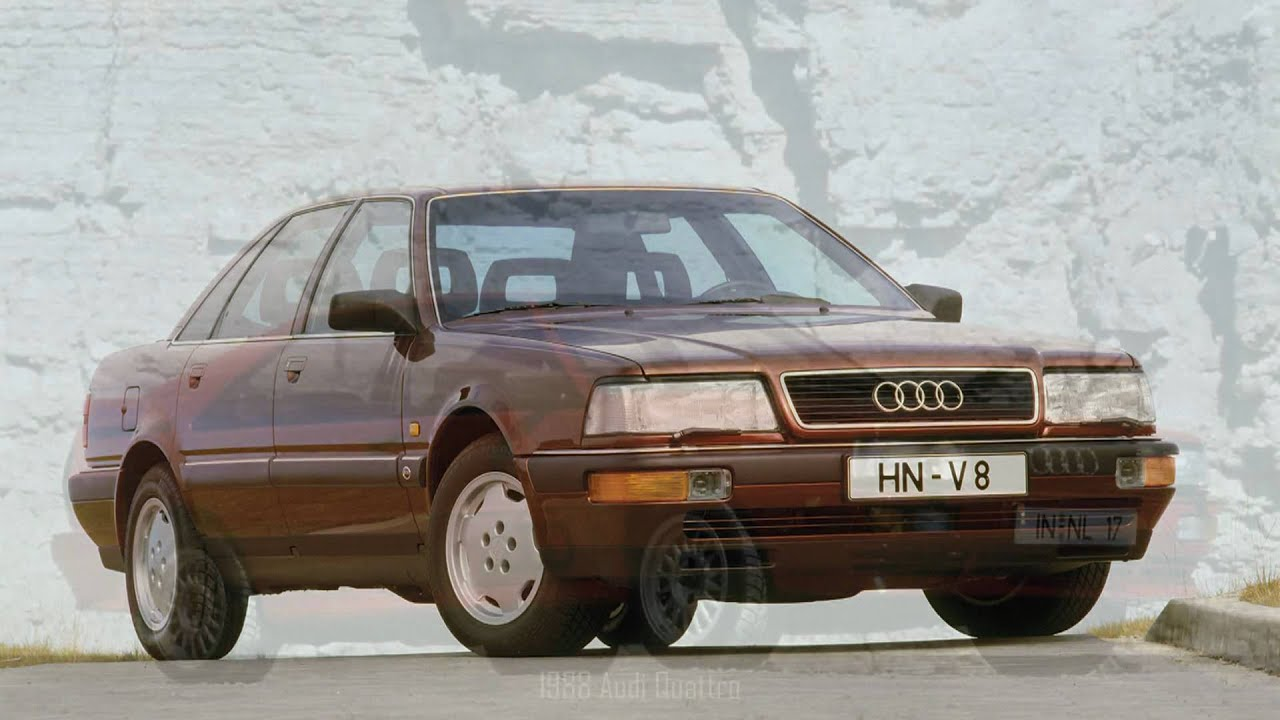 Audi's of the 1980's - YouTube