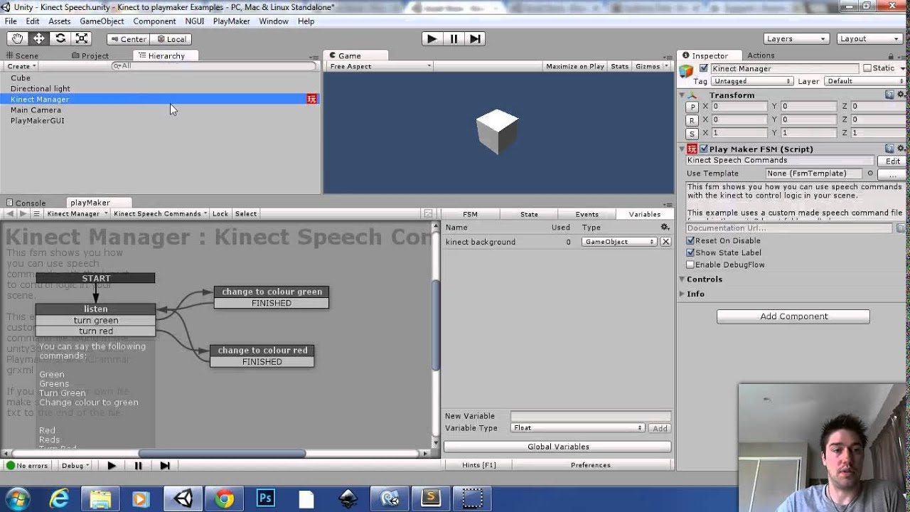 Kinect with MS-SDK | RF Solutions - Technology, Health and More