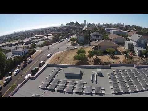King Chavez Preparatory Academy Solar - Flat Roof