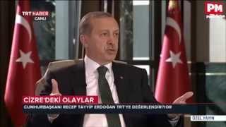 Tayyip Erdoğan: Valiler verdiğimiz talimatlar gereği PKK'ya operasyon yapmadı!