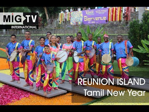 Reunion Island celebrates the Tamil New Year 5119
