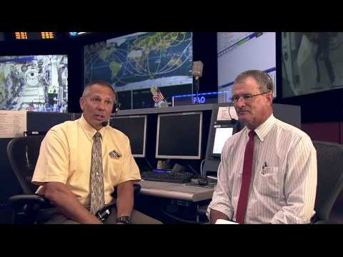 NASA Flight Controller talks space with students