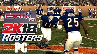 NFL 2k5 w/ 2k18 Rosters 1440p 60fps 16:9 on PC (PS2 PCSX2 emu)