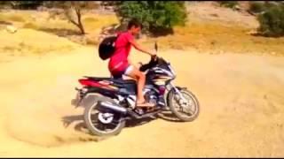 Motorla nasıl yanlanır  (yuki 100 A) 2017 Video