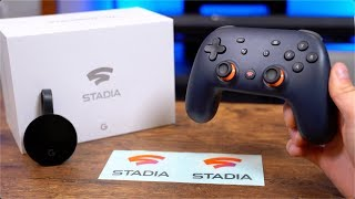 Google Stadia Unboxing and Setup!