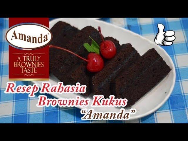 Resep Rahasia Brownies Kukus Amanda Terbaru
