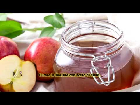 Curare la sinusite con aceto di mele