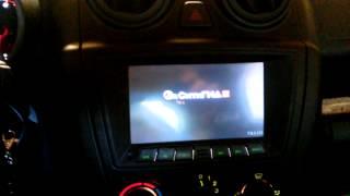 Штатная магнитола Lada Granta c GPS и камерой заднего вида