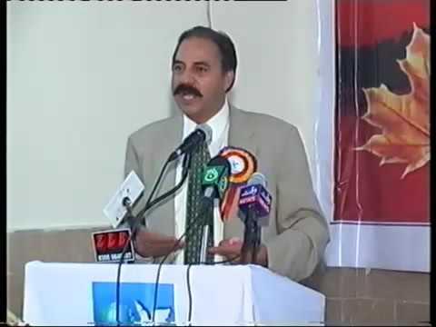 Matloob Inqalabi in Kashmir Peace Conference Kotli Azad Kashmir