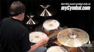 "Paiste 21"" Twenty Masters Dark Dry Ride Cymbal (5501721-1062513U)"