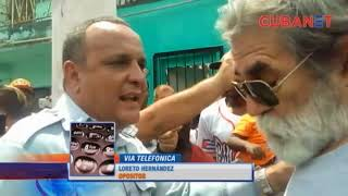 Protestan en un barrio de La Habana por falta de agua y electricidad