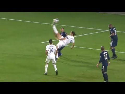 Zlatan Scores AMAZING Bicycle Kick GOAL
