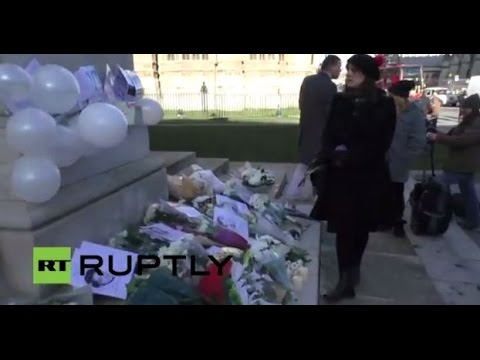 LIVE: Child abuse victims rally outside UK parliament