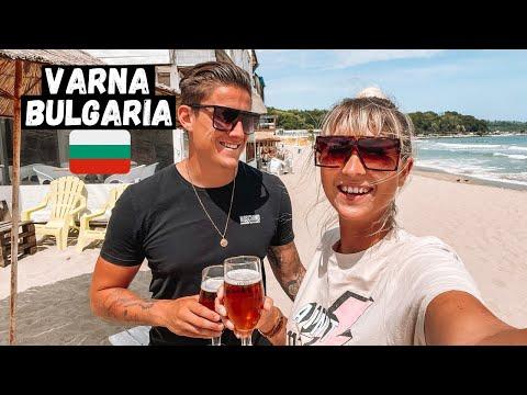 Exploring VARNA, BULGARIA! This Beach City SHOCKED us! (Holiday Destination 2021)