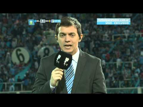 Ftbol en vivo belgrano  boca fecha 2 torneo primera divisin 2014 fpt